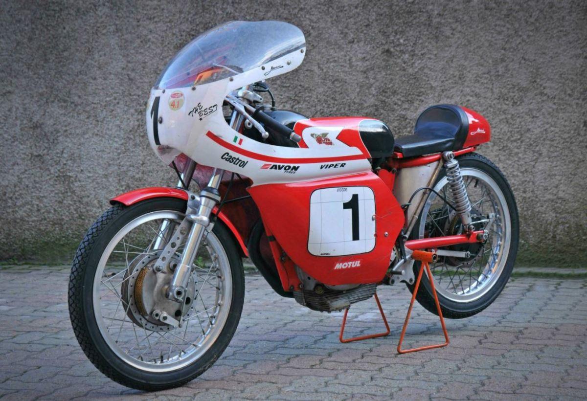 1959 Moto Morini Settebello 175 Aste Corte Racer