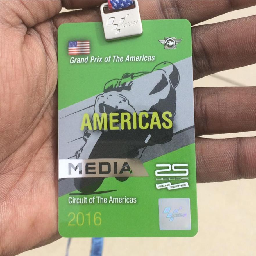 MotoGP Media Pass