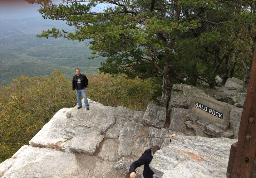 Mountain Overlook Bald Rock