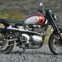 Mule Motorcycles Scrambler - 2006 Triumph Thruxton Custom