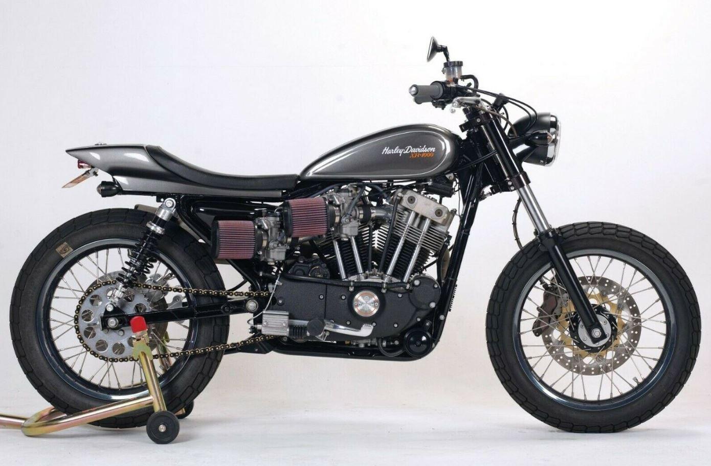 Mule Motorcycles Street Tracker – 1984 Harley-Davidson XR1000