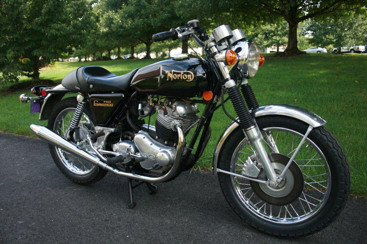 1972 Norton 750 Commando Combat Bike Urious
