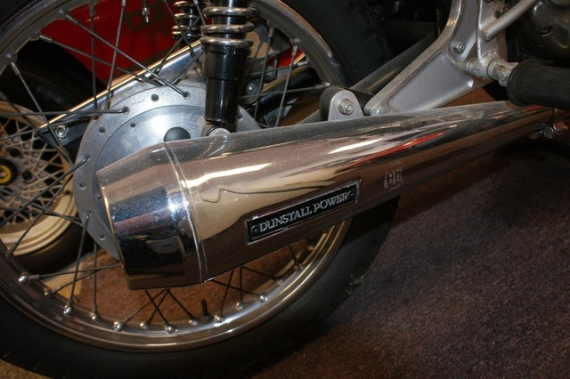Norton Commando Dunstall - Exhaust