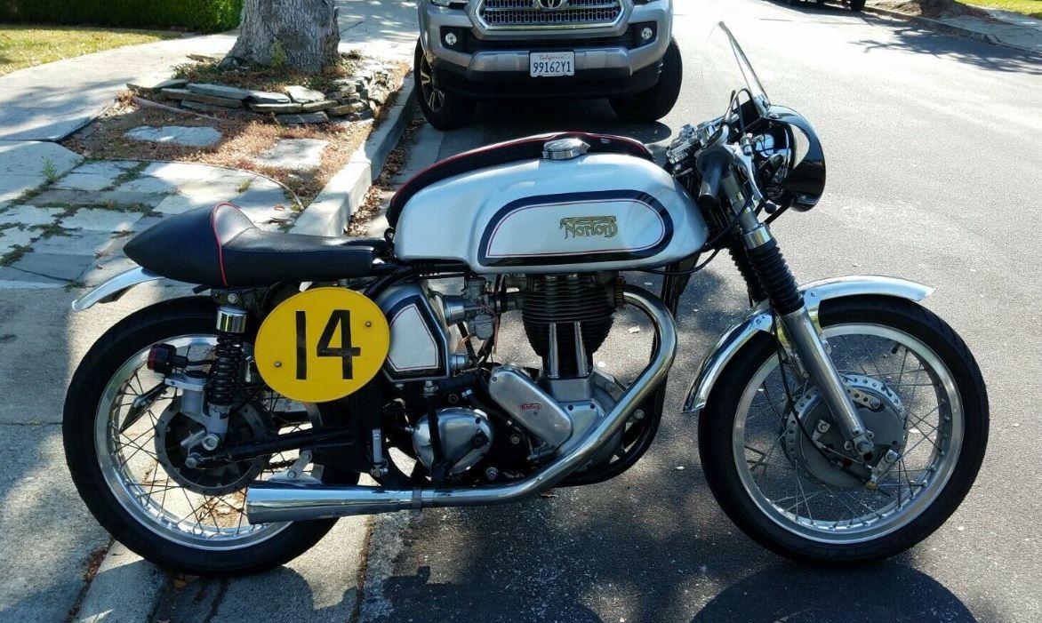 Vintage Racer – 1963 Norton ES2