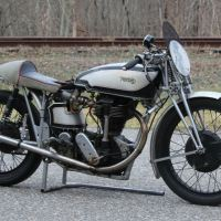 McCandless Swingarm Conversion - 1931 Norton International