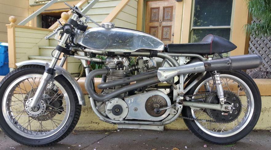 Norton Maney Racer - Left Side