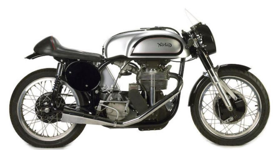 Norton Manx Buddy Parriot - Right Side