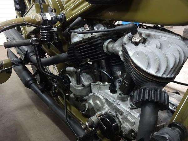 PMZ-A-750  - Engine