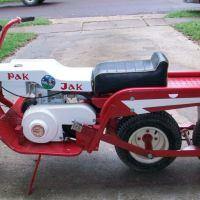 2WD - 1971 Pak-Jak 3 Wheel Scooter