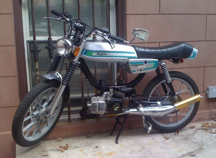 1979 Puch Magnum MKII Moped – Bike-urious