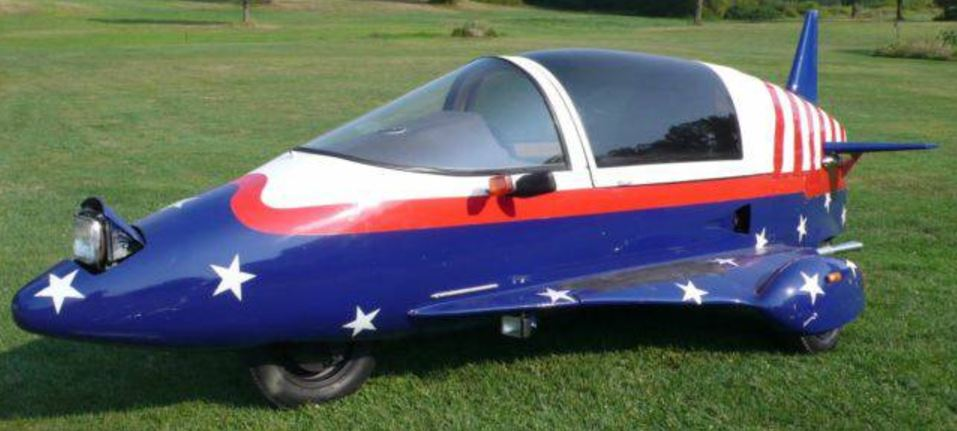Streetable Streamliner - 1989 Pulse AutoCycle