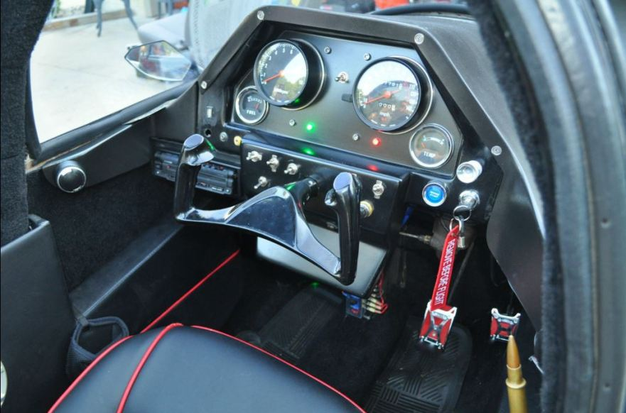 Pulse Litestar Autocycle - Cockpit