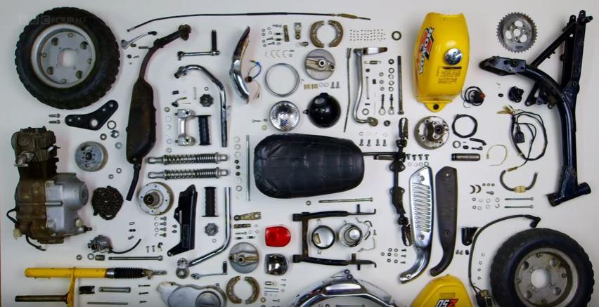 Video Intermission – James May Reassembles a Honda Z50