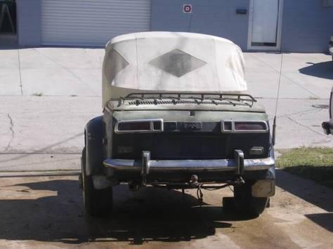 Renault Trike and Camper - Rear