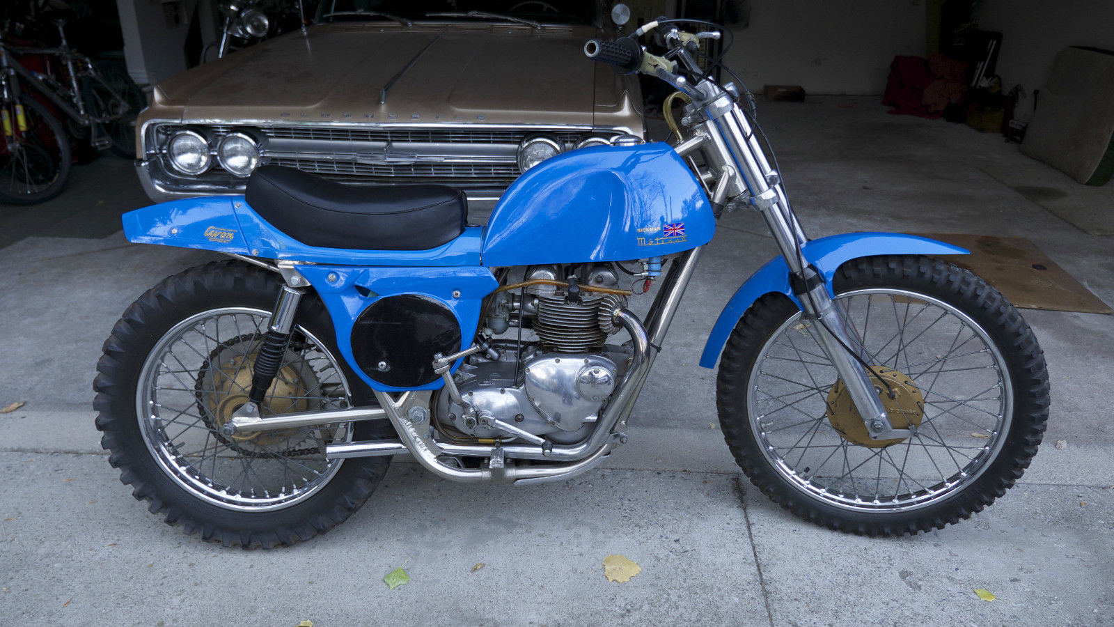 Couple Of Blue Rickman Metisses Bike Urious
