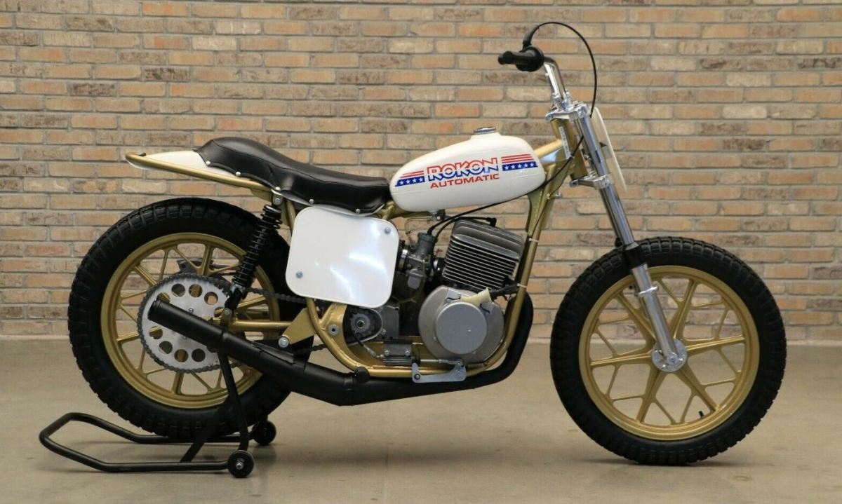 1 of 33 - 1975 Rokon FT340 Automatic Flat Tracker