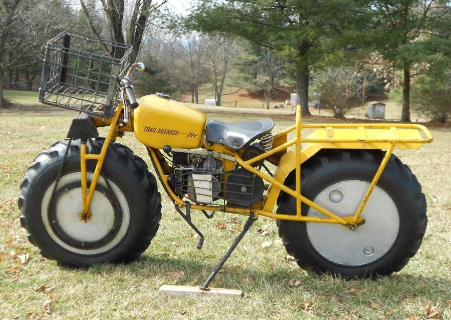 One Owner – 1969 Rokon Trailbreaker   Bike-urious
