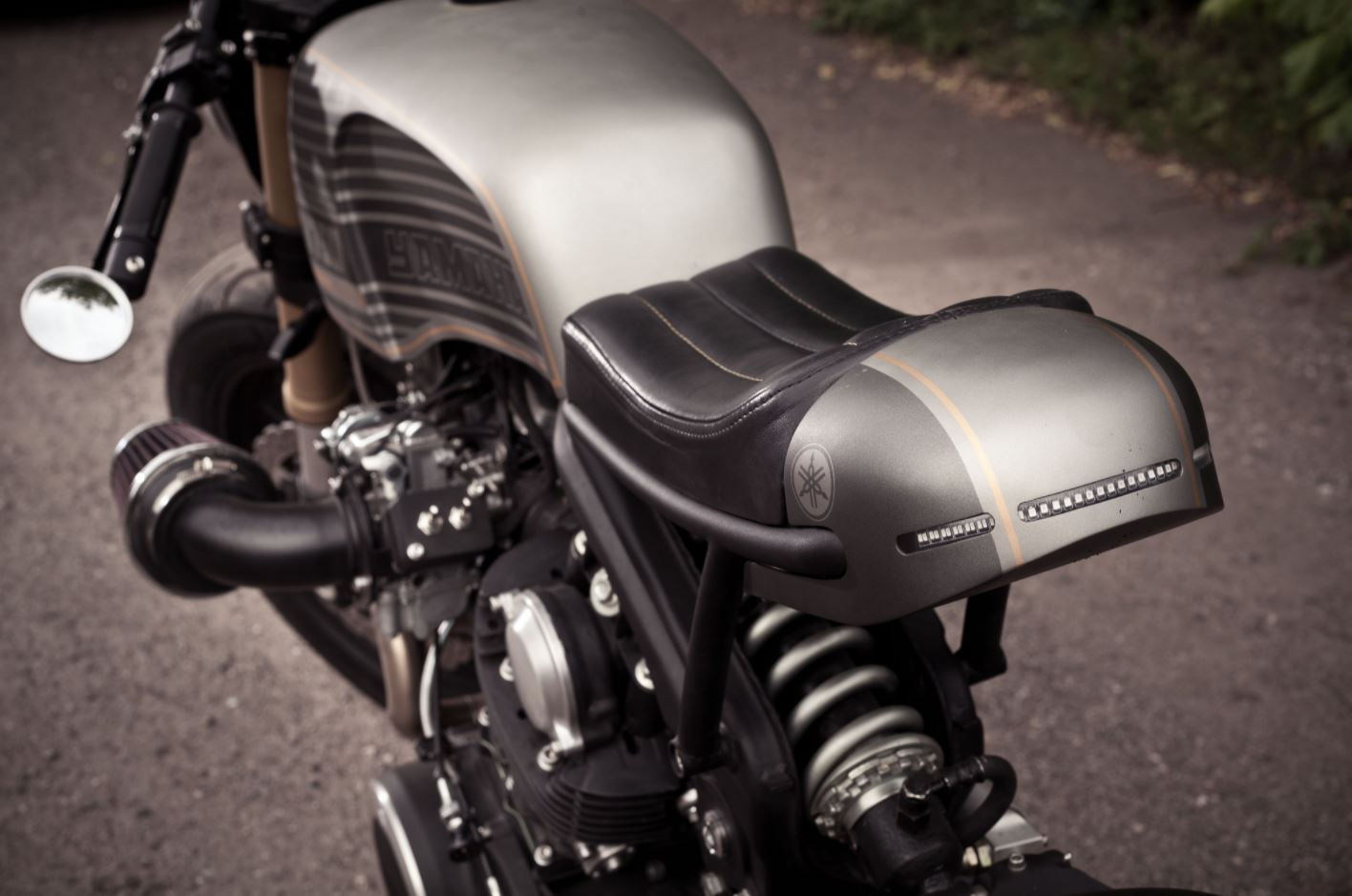 "Rouge One"" – 1982 Yamaha Virago XV750 Custom – Bike-urious"