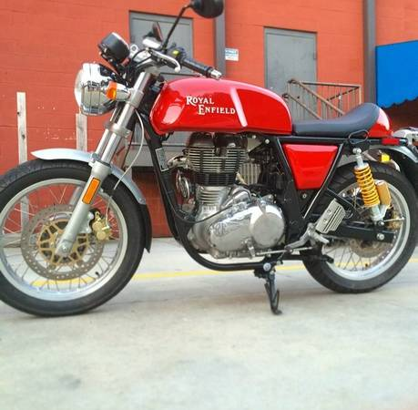 2014 Royal Enfield Continental GT Cafe Racer – Bike-urious