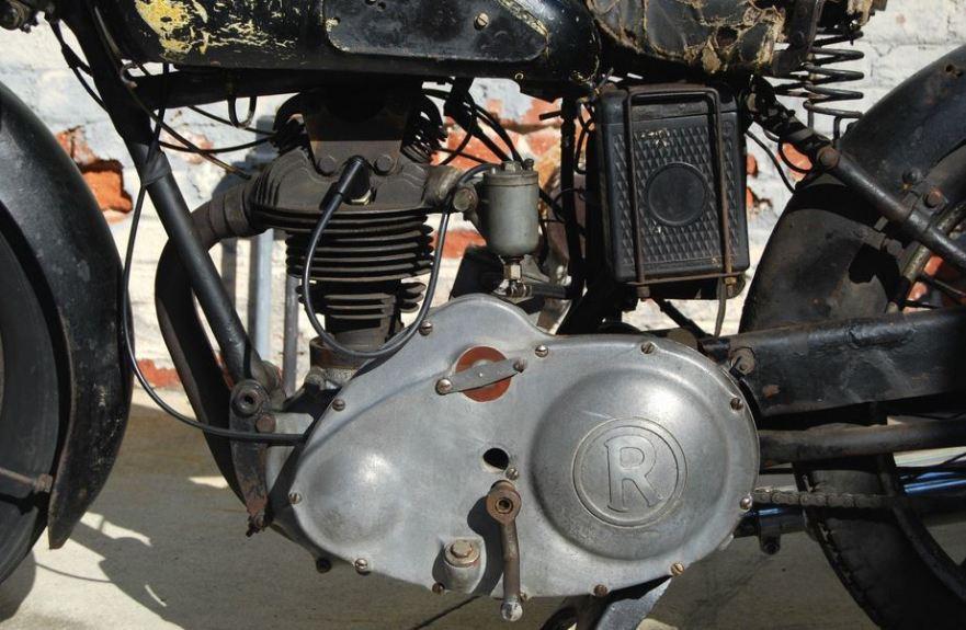 Rudge Tourist - Engine