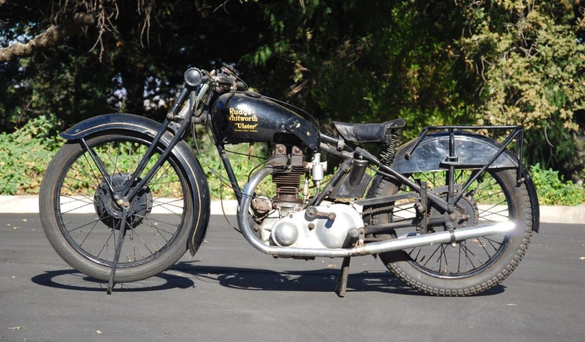 Supposed Factory TT Test Mule - 1930 Rudge Ulster Racer