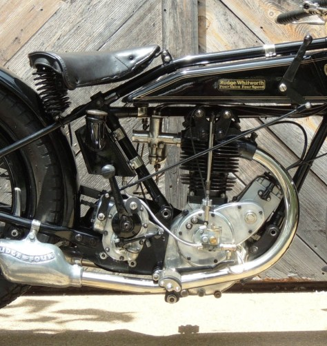 Rudge-Whitworth Four Special - Engine