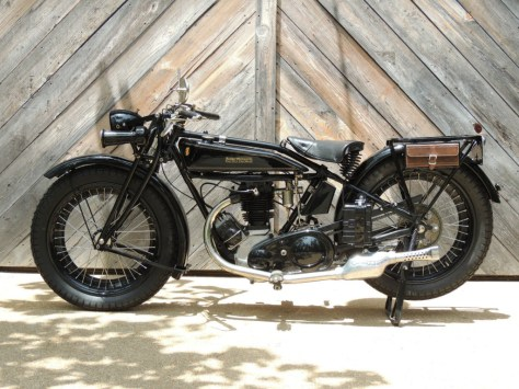 Rudge-Whitworth Four Special - Left Side