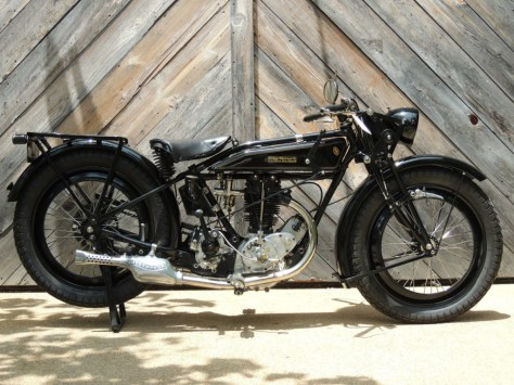 Rudge-Whitworth Four Special - Right Side
