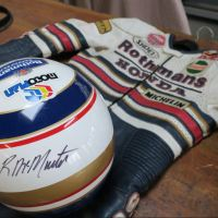 Gear Intermission - Rueben McMurter's Rothmans Honda Helmet and Suit
