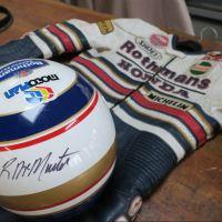 Gear Intermission - Rueben McMurter's Rothmans Honda Helmet and Suit