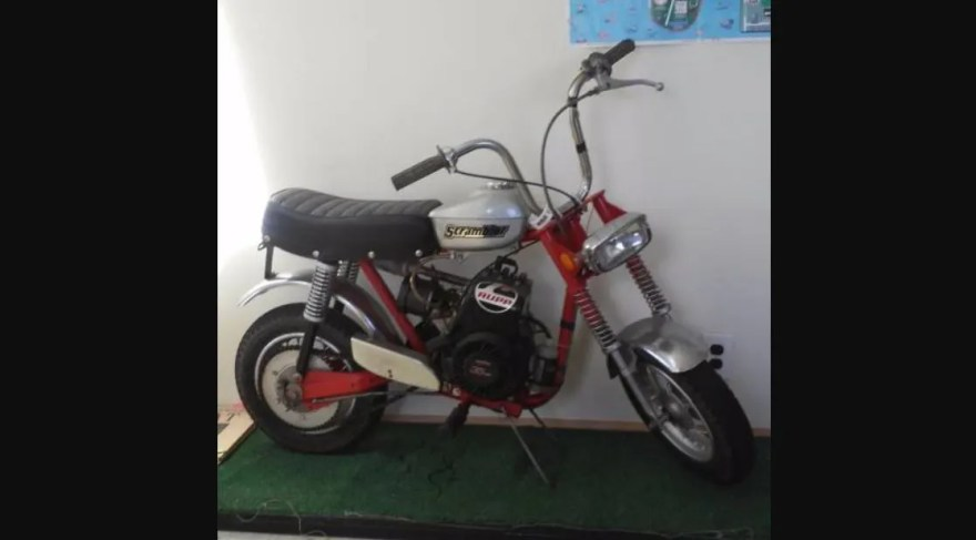 Resto Mini 1970 Rupp Scrambler Bike Urious