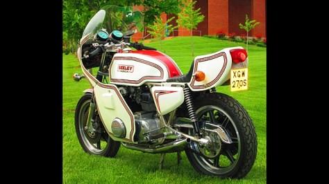 Seeley Honda - Rear Left