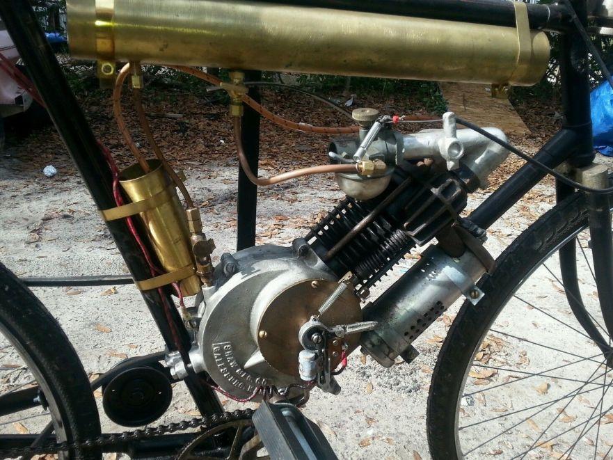 Shaw Motorbike - Engine