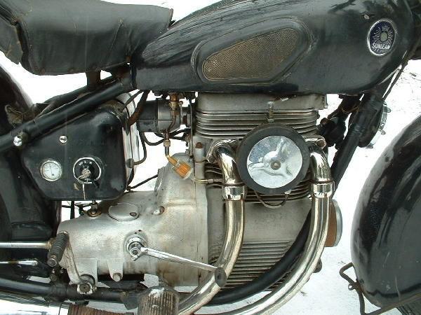 Sunbeam S7 - Engine