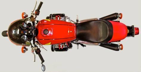 Supercharged Honda GL1000 - Top