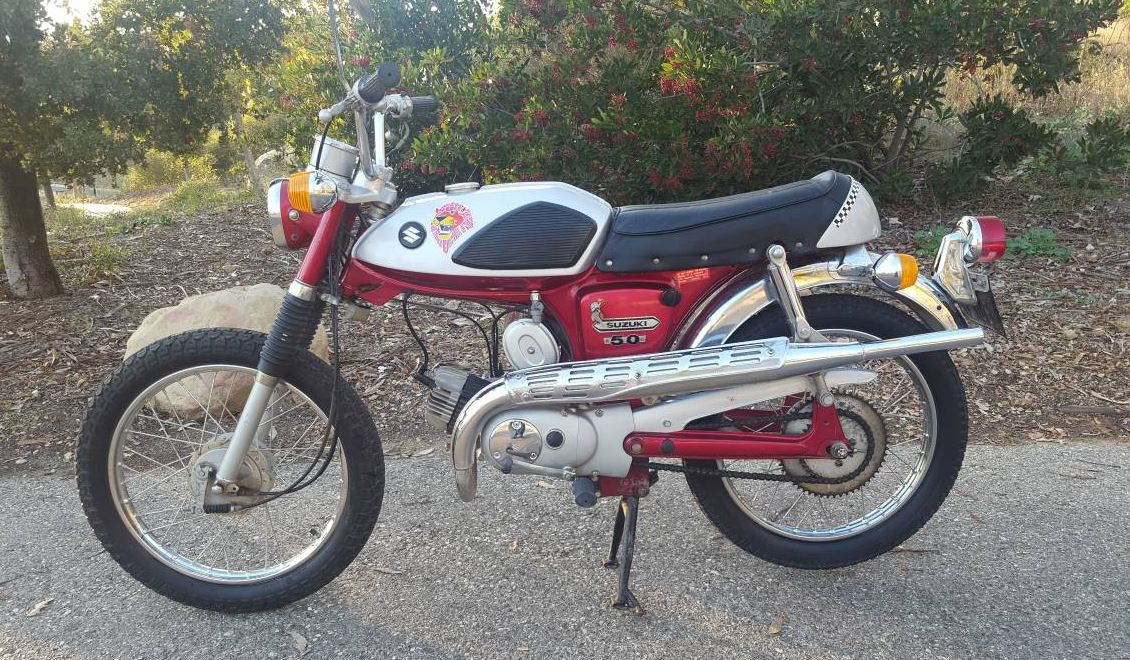 280 Miles - 1969 Suzuki AS50 Maverick