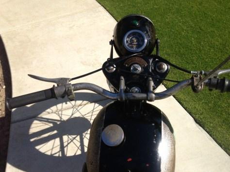 Suzuki Colleda - Cockpit