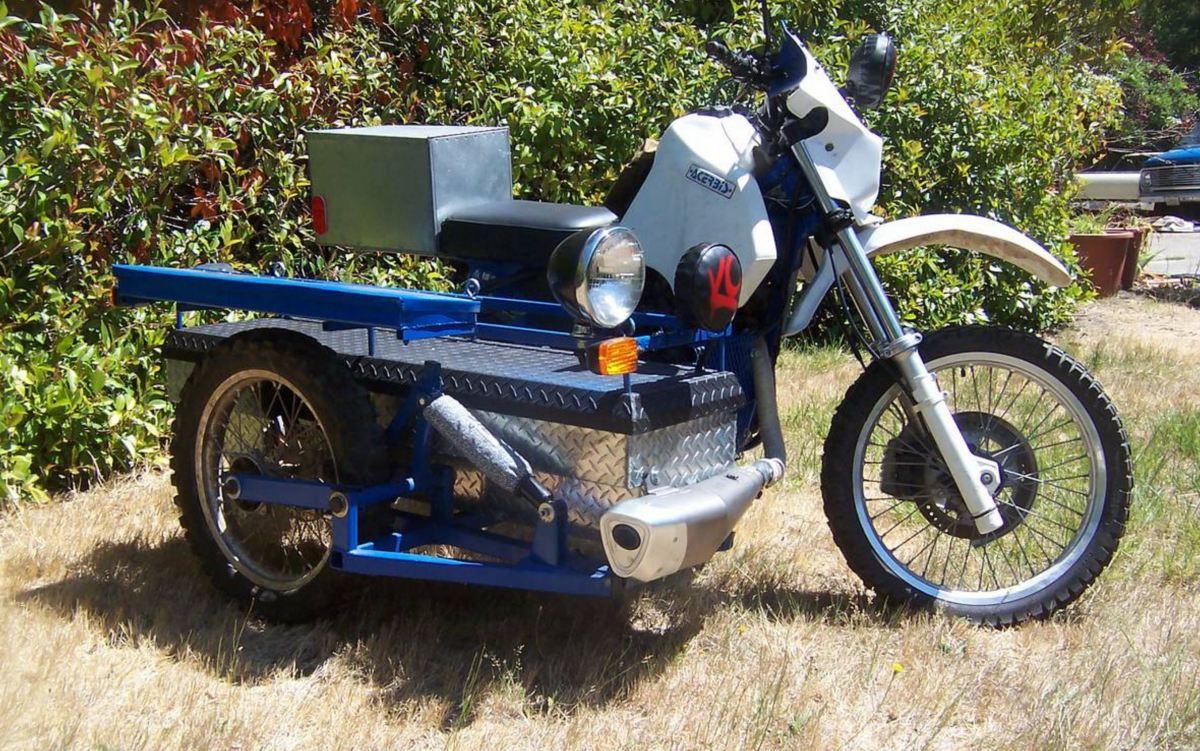 Sidecar Adventure Rig 1991 Suzuki Dr650 Bike Urious