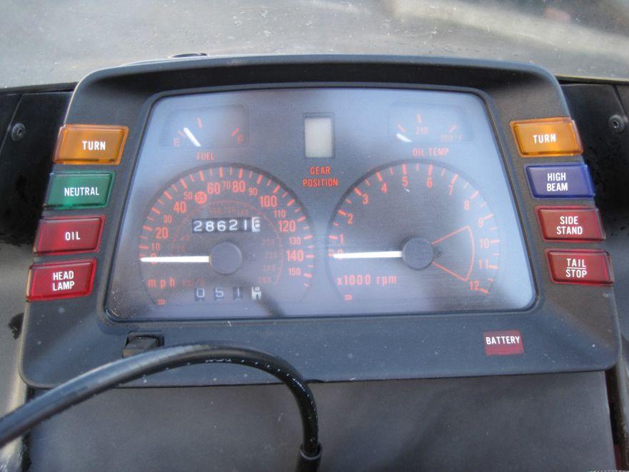 Suzuki GS1150ES - Cockpit