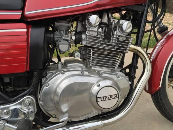 Suzuki GS450ST - Engine