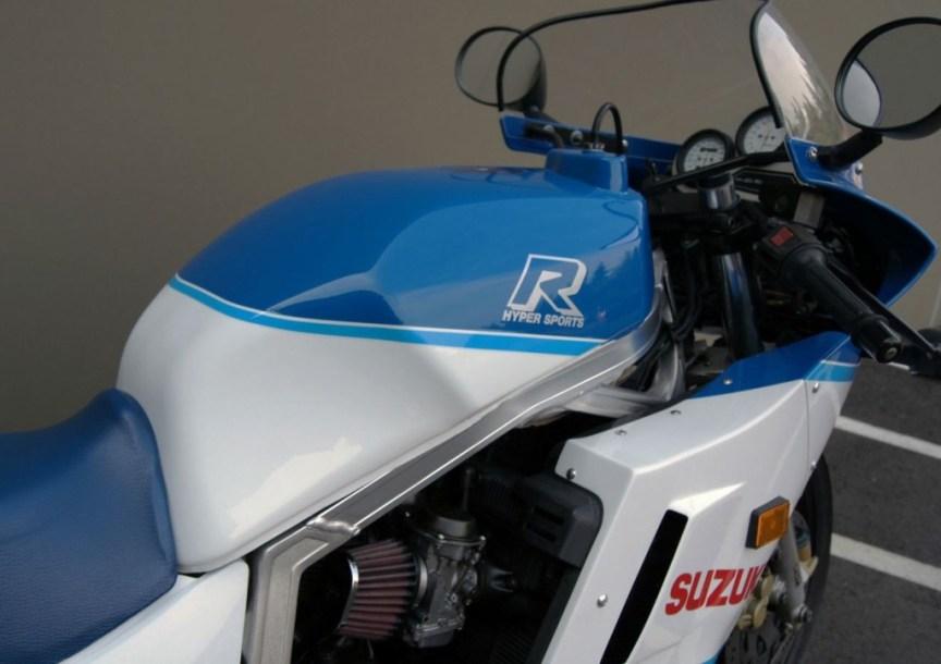 Suzuki GSX-R 750 - Tank