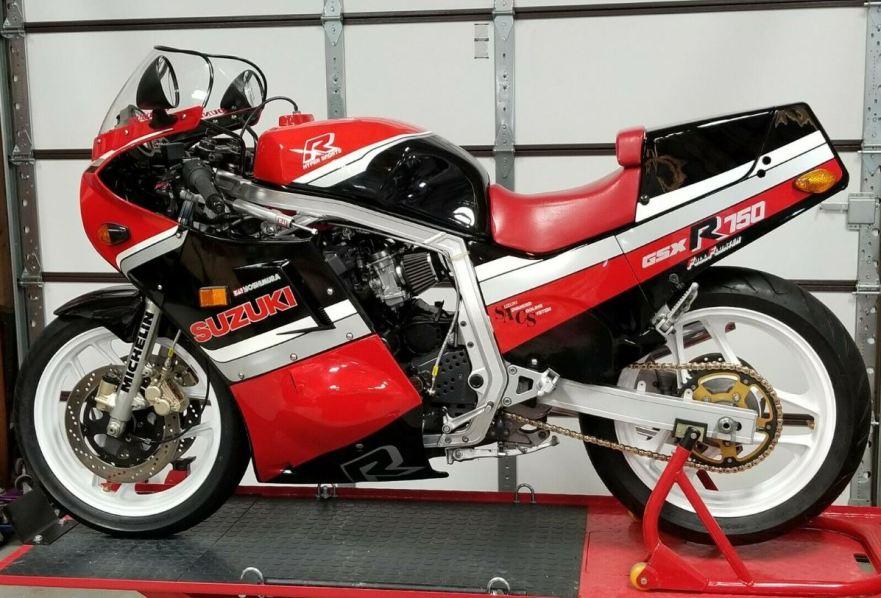 Upgraded – 1986 Suzuki GSX-R750 – Bike-urious