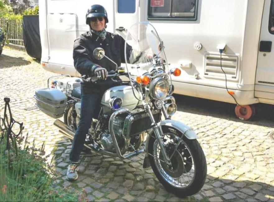 In Germany – 1976 Suzuki GT750 Patroller