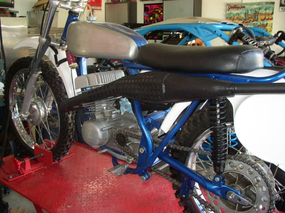 First Japanese Motocrosser Project – 1967 Suzuki RH67