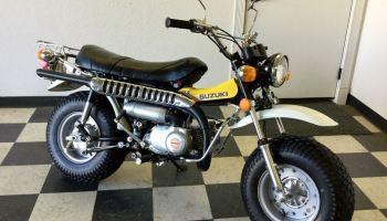 1972 suzuki rv90 rover | bike-urious