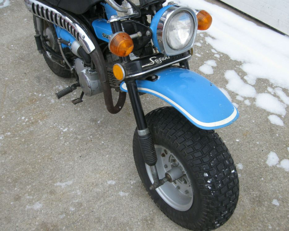 1972 Suzuki RV90 Rover – Bike-urious