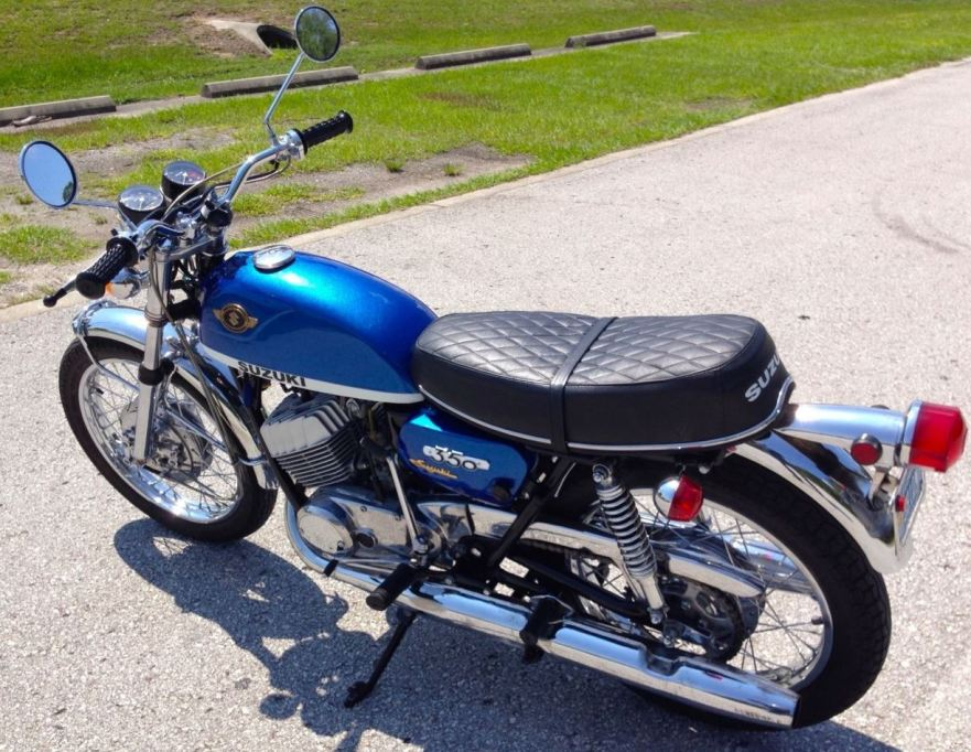 Suzuki T350 Rebel - Left Side