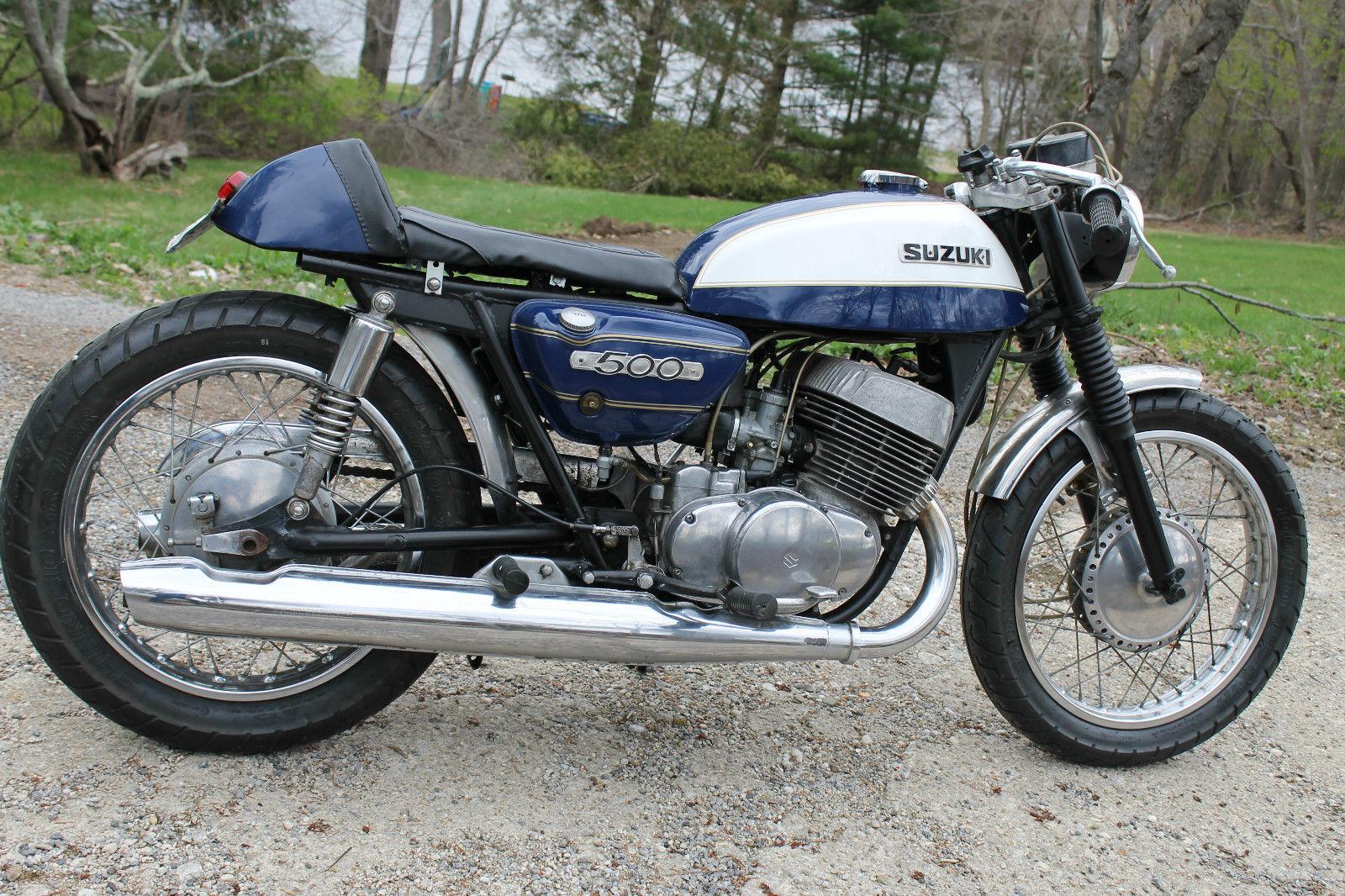 1971 suzuki t500 cafe racer | bike-urious