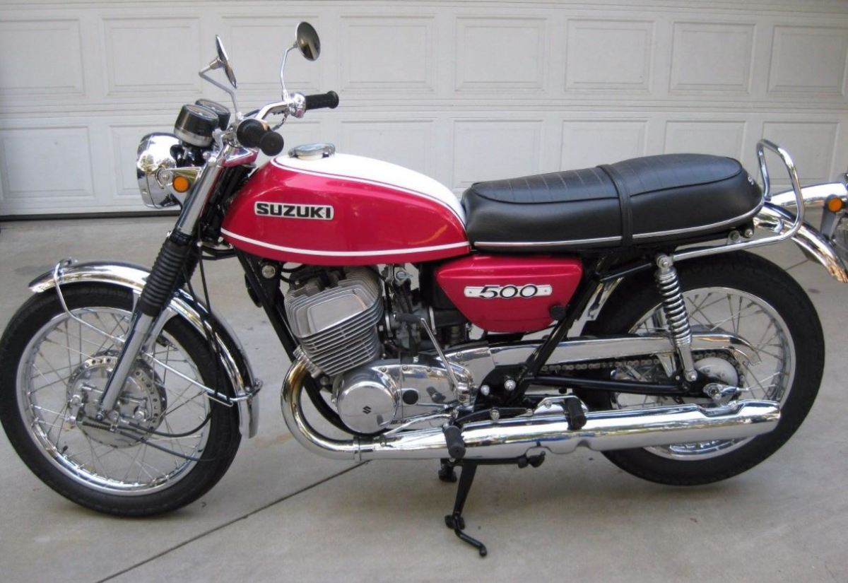 Restored and Enjoyed - 1971 Suzuki T500 Titan