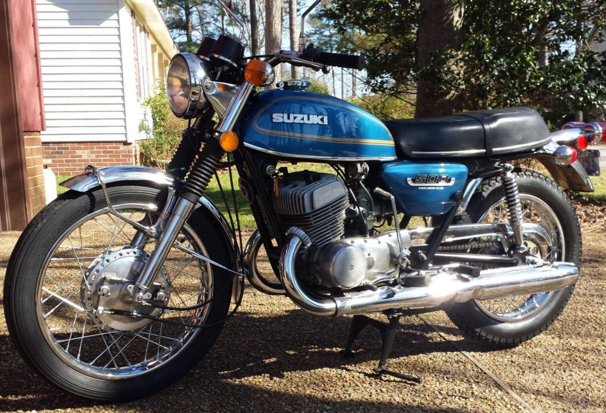 1975 Suzuki T500 Bike Urious